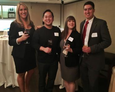 Attorneys Noel Di Carlo, Virgilio Ong, Maggie Hoyt-Rupert and Dominic Poncia