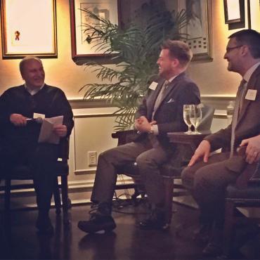 Attorney George Warshaw, Designer Dane Austin and Architect Steven Reilly